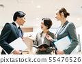 비즈니스 통역 상담 협의 55476526
