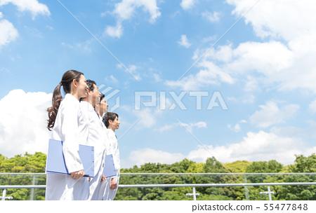 商人,藍天,醫院,老人院,實驗室,醫生 55477848