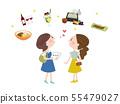 음식 여자 여행 55479027