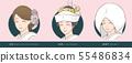 ชุดแต่งงานสำหรับเจ้าสาวชุดญี่ปุ่น ผมตะวันตก, มุมซ่อน, หมวกผ้าฝ้าย 55486834