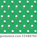 Golf ball background vector   55488760