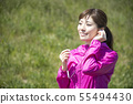 Woman sportswear wireless earphone bluetooth 55494430