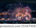 (시즈오카 현) 시미즈 항구 축제 해상 불꽃 놀이 55497468
