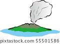 Sakurajima illustration 55501586