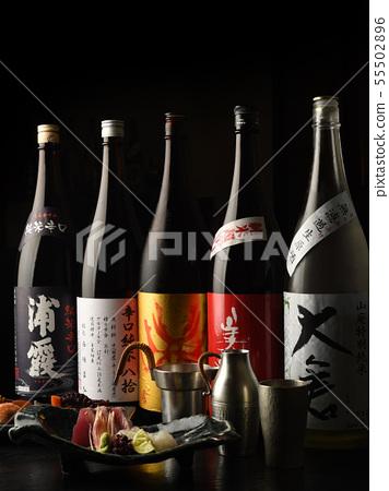 Japanese sake image 55502896