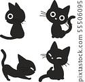 검은 고양이의 그림 3 55506095