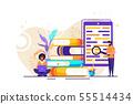 library of encyclopedia 55514434