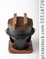 Kama-meshi, japanese traditional rice cooking pot 55518726