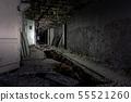 Abandoned corridor in Pripyat Chernobyl Exclusion 55521260