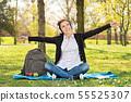 woman, book, female 55525307