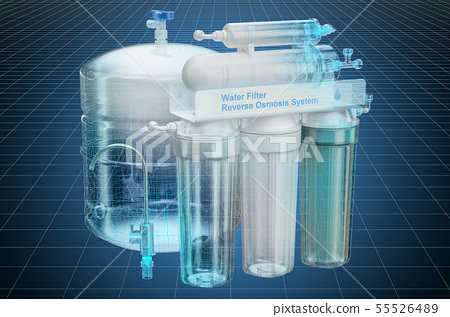 Visualization 3d cad model of Reverse Osmosis 55526489