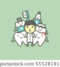 dentist and best friend of tooth healthy family 55528191