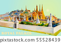 Travel landmark popular royal grand palace bangkok 55528439