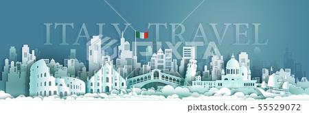 Travel italy Europe architecture famous landmarks 55529072