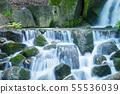 Beautiful Waterfalls in forest. 55536039