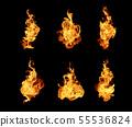 불, 불꽃, 화재 55536824