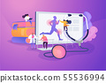 Sport medicine concept vector illustration 55536994