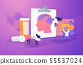 Alzheimer disease concept vector illustration 55537024
