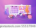 Nursing home concept vector illustration 55537046