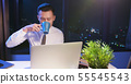 businessman overtime work 55545543