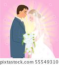 新娘和新郎 55549310