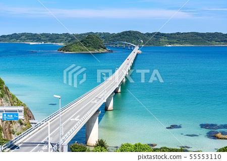 Yamaguchi Prefecture Shimonoseki City Kakushima Bridge 55553110