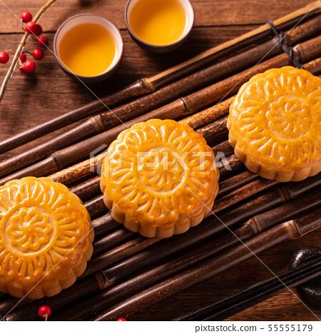 中秋節月餅蓋貝 55555179