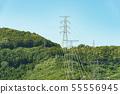 鋼塔高壓線輸電線路 55556945