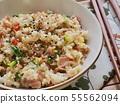 아시아 음식 야채 볶음밥  55562094