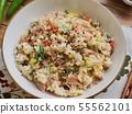 아시아 음식 야채 볶음밥  55562101
