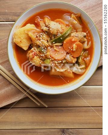 한국의 전통음식 닭도리탕, 닭볶음탕 55562200