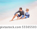 family tropical vacation 55565503