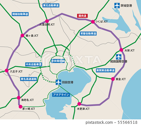 Central Road Map 55566518