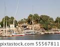 이집트 나일강의 풍경 55567811