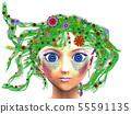 Floral girl 55591135