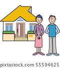 独立的老人房地产 55594625