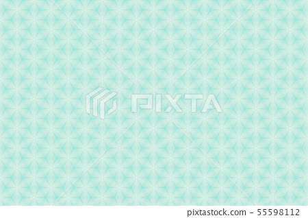 Floral pattern green 55598112