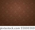 Seamless pattern of autumnal western wallpaper 55600369