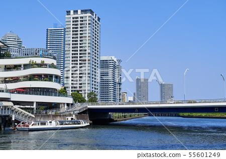 橫濱站東口的Seabus平台和臨港區域的建築物 55601249