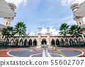 View of Masjid Jamek  Sultan Adul Samad Mosque 55602707
