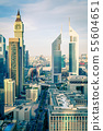 Modern cith skyline 55604651