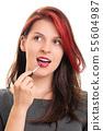 lipstick, female, woman 55604987