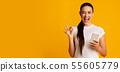female, woman, lady 55605779