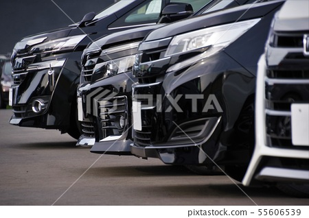 Cars lined up at dealerships Car image Toyota car 55606539