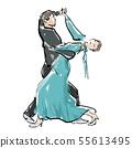 社交舞蹈 55613495