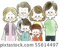 세 가족 - 미소 - 수채화 55614497