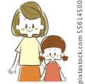 부모 - 모자 - 어머니와 딸 55614500