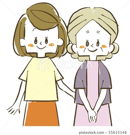 부모 - 모녀 55615148