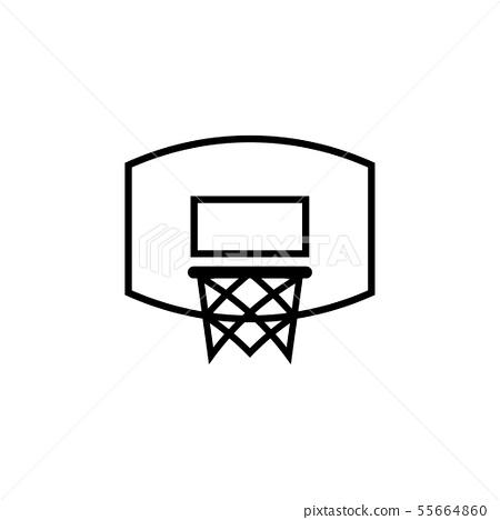Basketball ring icon design template vector 55664860