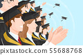 Group of people background illustration 005 55688768